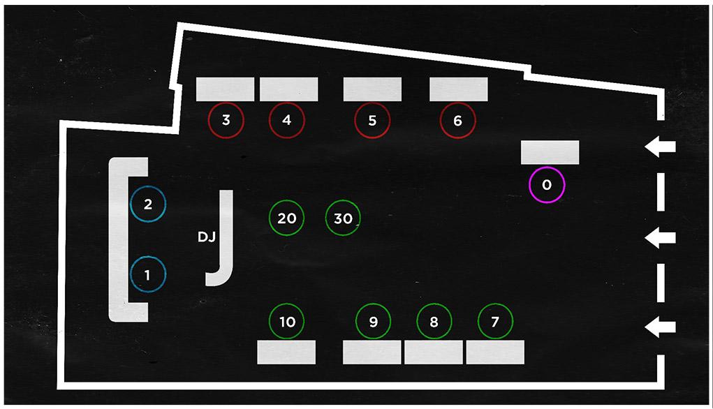 cirque mykonos table map