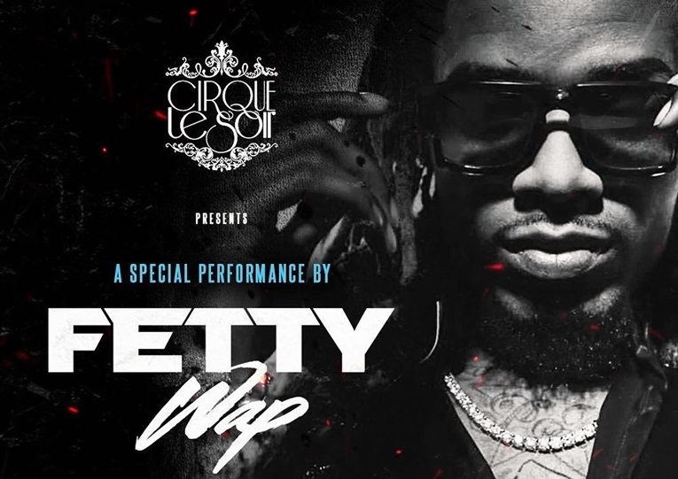 Fetty wap at Cirque le Soir London