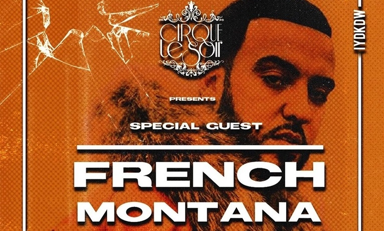 french montana at cirque london