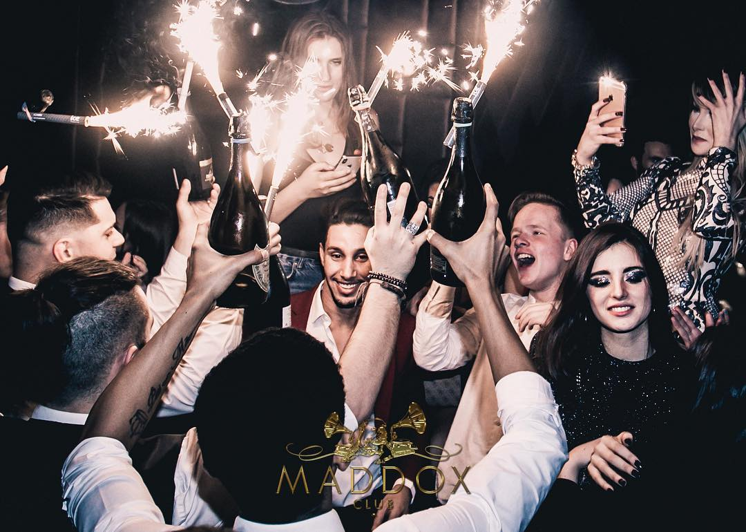 maddox table booking and guestlist